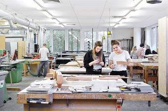 Faculty of Architecture: Wood Workshops