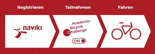 The Academic Bicycle Challenge (ABC) is the new international cycling contest for universities and colleges. The ABC wants to find the most active cycling institutions of higher education worldwide. Our university is joining the ABC in September 2018. Together we will be able to proof that we are awesome on the bicycle as well!