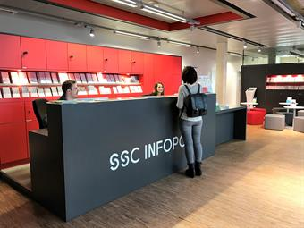 Theke des SSCV-Infopoints