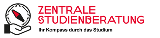 compass graphik of Student Advisory and Counselling Service (ZSB - Zentrale Studienberatung)