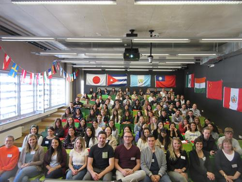 Welcome Event for international Exchange students at Hochschule Düsseldorf - University of Applied Sciences 18 September 2019