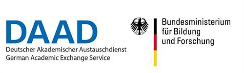 Logos of the German Foreign Exchange Service and the Ministry of Education and Research